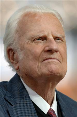 Billy Graham: motive de recunoștință la 93 de ani